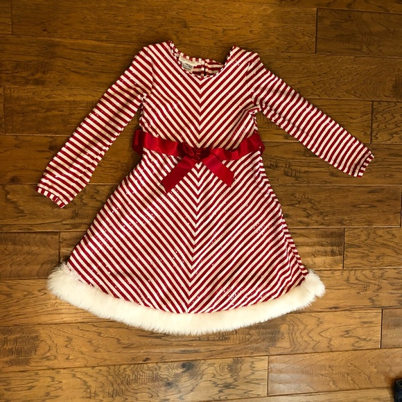 679297b78d0 Bonnie Jean Other - Bonnie Jean Red & White Dress